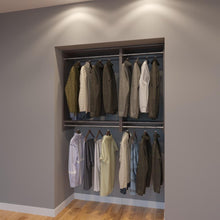 Load image into Gallery viewer, Modular Closets 4.5 FT Closet Organizer System - 54 inch - Style F