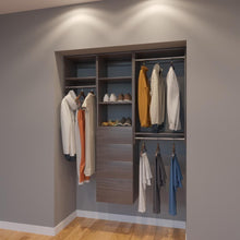 Load image into Gallery viewer, Modular Closets 5 FT Closet Organizer System - 60 inch - Style A