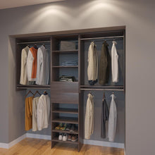 Load image into Gallery viewer, Modular Closets 7 FT Closet Organizer System - 84 inch - Style C
