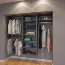 Load image into Gallery viewer, Modular Closets 7 FT Closet Organizer System - 84 inch - Style D