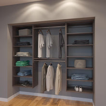 Load image into Gallery viewer, Modular Closets 7.5 FT Closet Organizer System - 90 inch - Style A