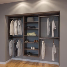 Load image into Gallery viewer, Modular Closets 7.5 FT Closet Organizer System - 90 inch - Style B
