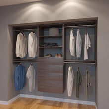 Load image into Gallery viewer, Modular Closets 7.5 FT Closet Organizer System - 90 inch - Style D