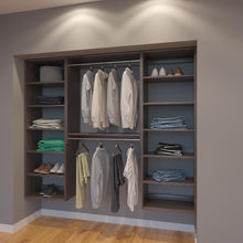 Load image into Gallery viewer, Modular Closets 7 FT Closet Organizer System - 84 inch - Style F
