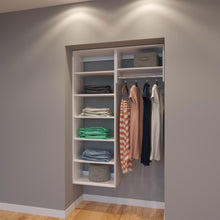 Load image into Gallery viewer, Modular Closets 4 Ft Closet Organizer System - 48 inch - Style E