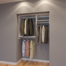 Load image into Gallery viewer, Modular Closets 4.5 FT Closet Organizer System - 54 inch - Style D