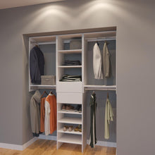 Load image into Gallery viewer, Modular Closets 5.5 FT Closet Organizer System - 66 inch - Style A