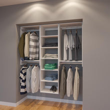 Load image into Gallery viewer, Modular Closets 5.5 FT Closet Organizer System - 66 inch - Style B