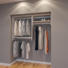 Load image into Gallery viewer, Modular Closets 5.5 FT Closet Organizer System - 66 inch - Style D