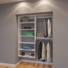 Load image into Gallery viewer, Modular Closets 5 FT Closet Organizer System - 60 inch - Style F