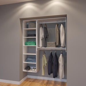 Modular Closets 5 FT Closet Organizer System - 60 inch - Style G
