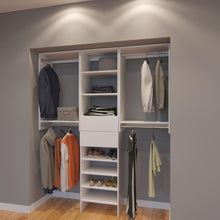 Load image into Gallery viewer, Modular Closets 6 FT Closet Organizer System - 72 inch - Style B
