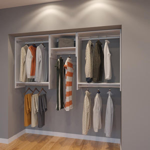 Modular Closets 7 FT Closet Organizer System - 84 inch - Style A