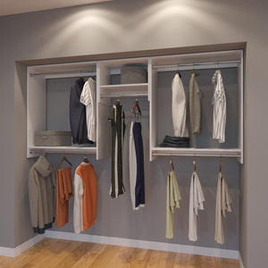 Modular Closets 8 FT Closet Organizer System - 96 inch - Style A