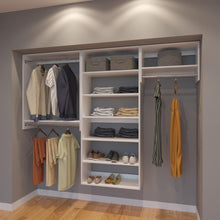 Load image into Gallery viewer, Modular Closets 8 FT Closet Organizer System - 96 inch - Style C