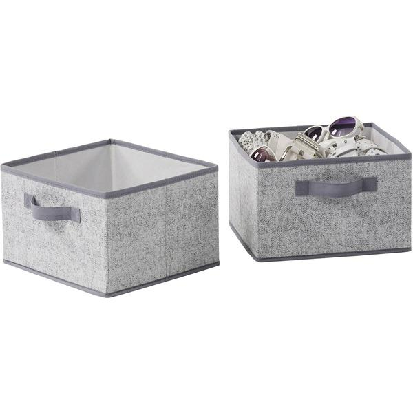 2 PK DRAWERS GRY
