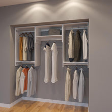 Load image into Gallery viewer, Modular Closets 6.5 ft Closet Organizer System - 78 inch - Style D