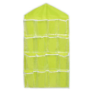 Multifunctional Underwear Sorting Door Wall Hanging Closet Organizer bag