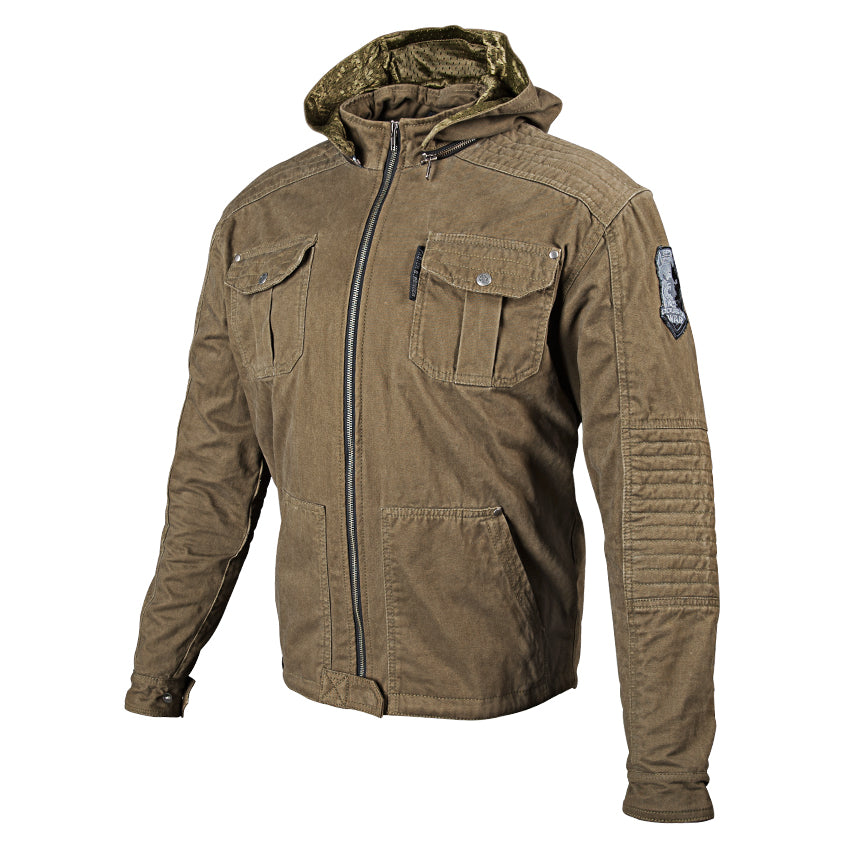 DOGS OF WAR™ JACKET OLIVE FRONT