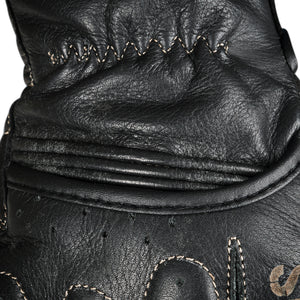 LEATHER AND STITCH DETAIL