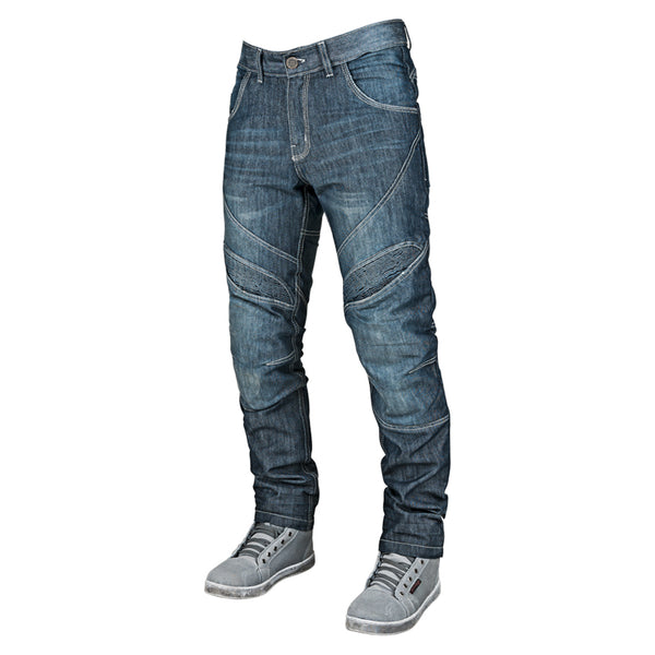 RUST AND REDEMPTION™ ARMORED JEANS FRONT