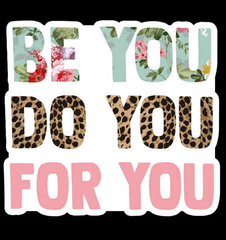 BE YOU STICKER