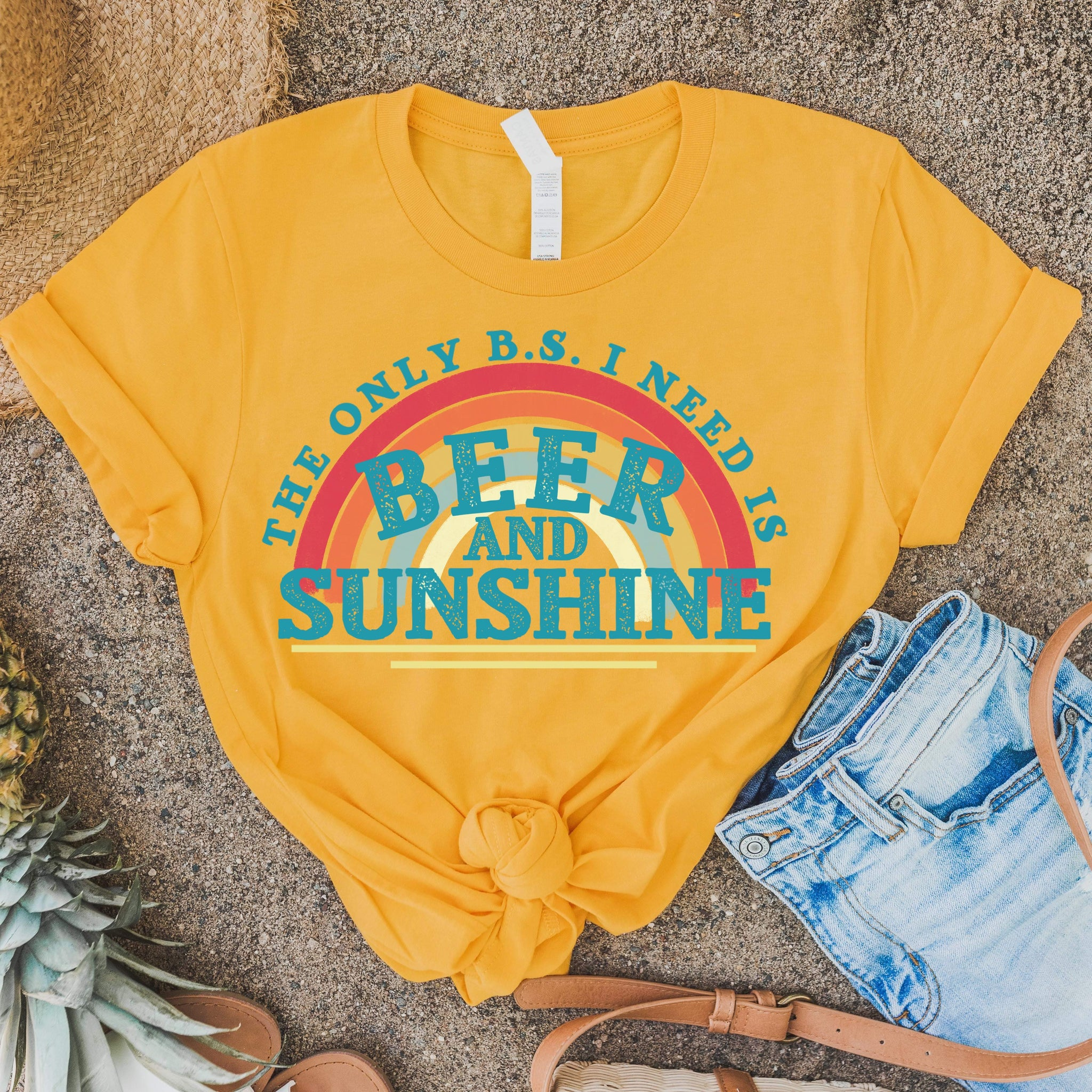 Beer and Sunshine {Soft / High Heat}