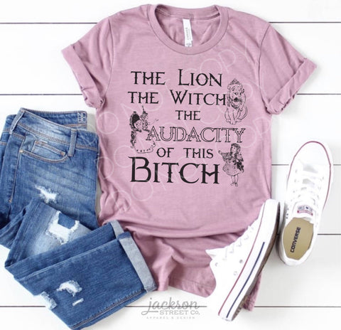 The Lion The Witch The Audacity
