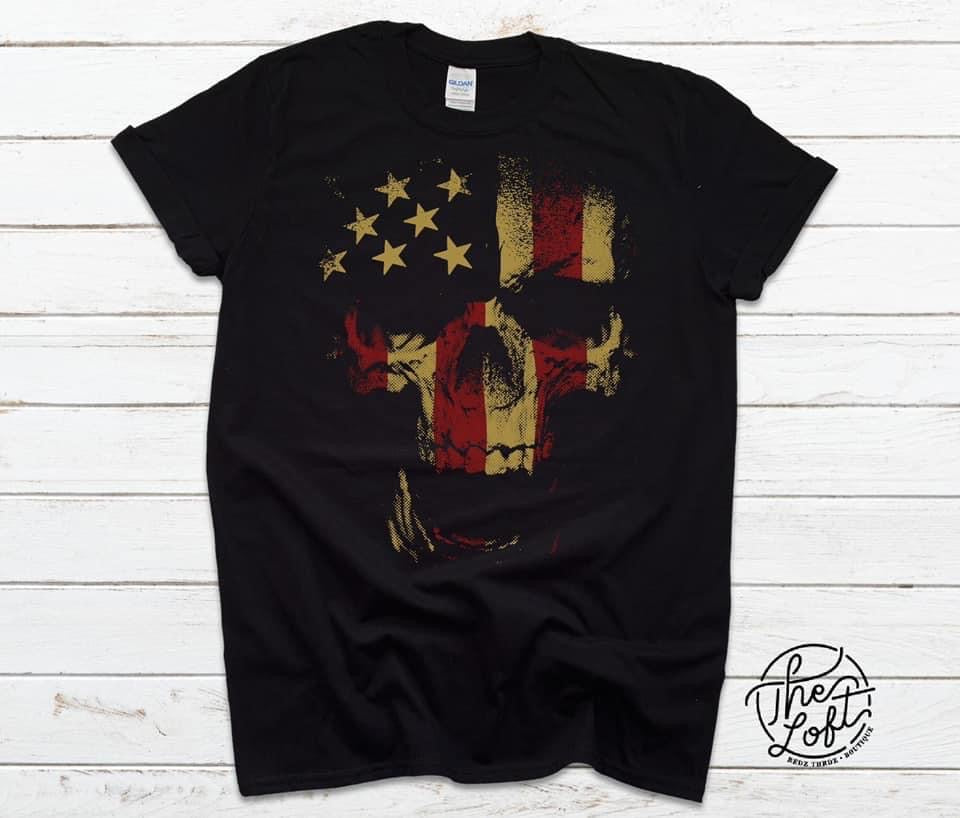 Punisher Flag Skull
