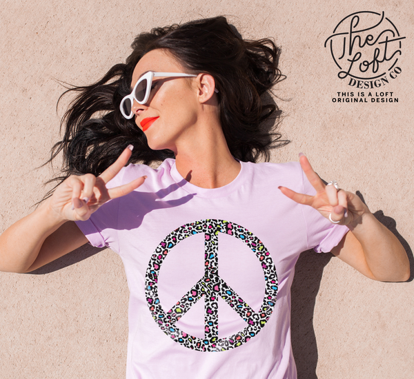 Leopard Peace Sign