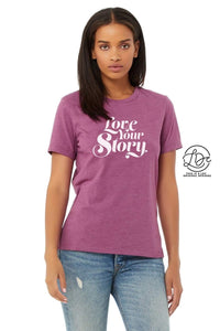 LOVE YOUR STORY GRAPHIC TEE
