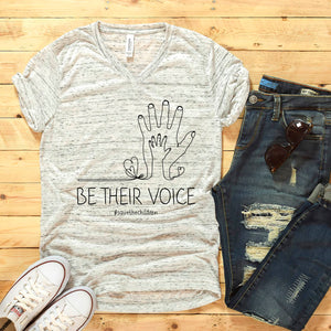 BE THEIR VOICE #SAVETHECHILDREN **MISPRINT**
