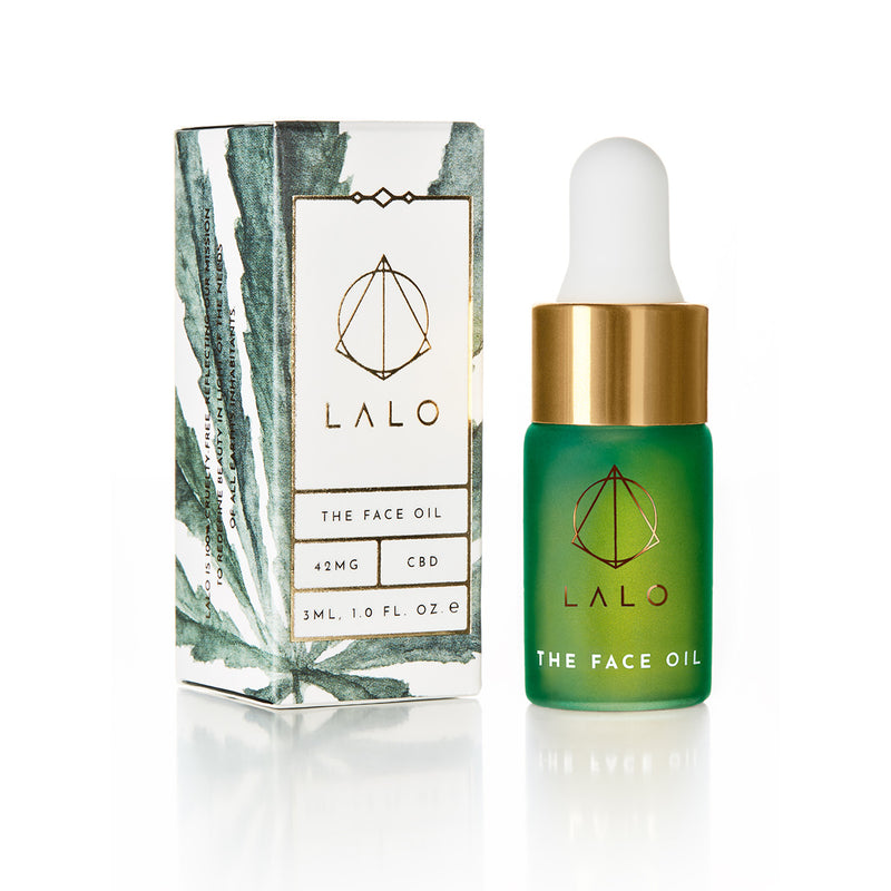 The Face Oil mini 3ml - LALO Skincare