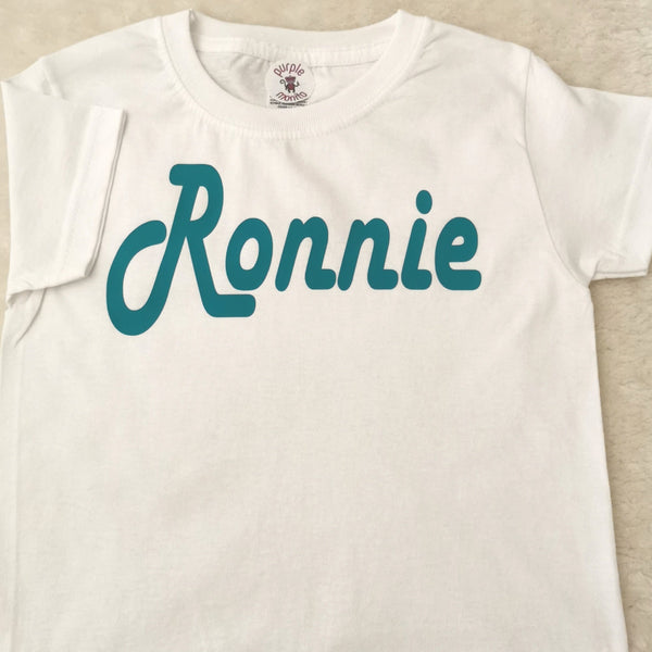 Name personalised t shirts