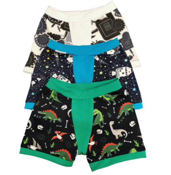 Boys boxer shorts, 3 surprise pairs