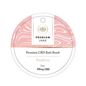 Premium Jane CBD Bath Bomb - 50mg