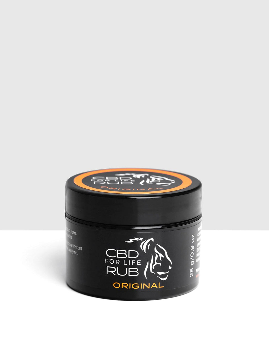 CBD For Life Rub – 120mg