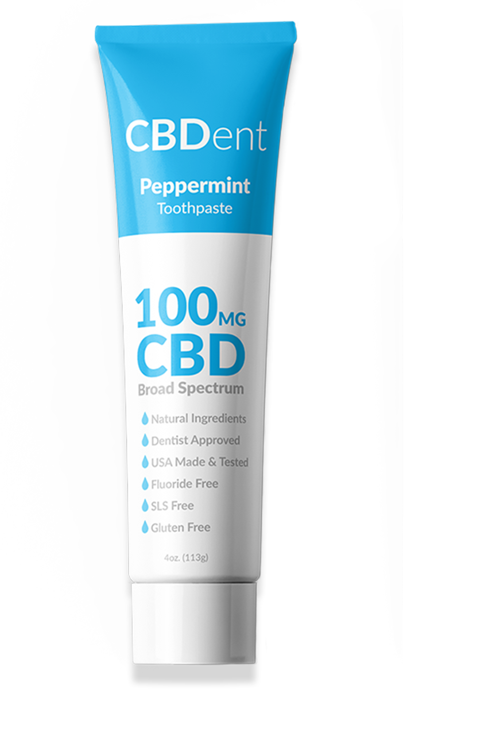 CBDent Peppermint Toothpaste - 100mg