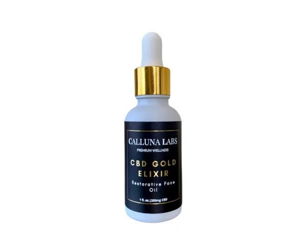 Calluna Labs CBD Gold Elixir Face Oil
