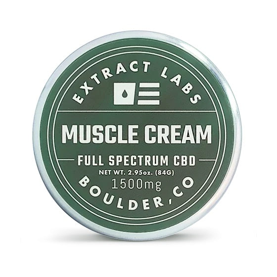 Extract Labs CBD Muscle Cream