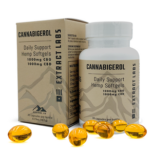 Extract Labs Daily Support CBG Capsules