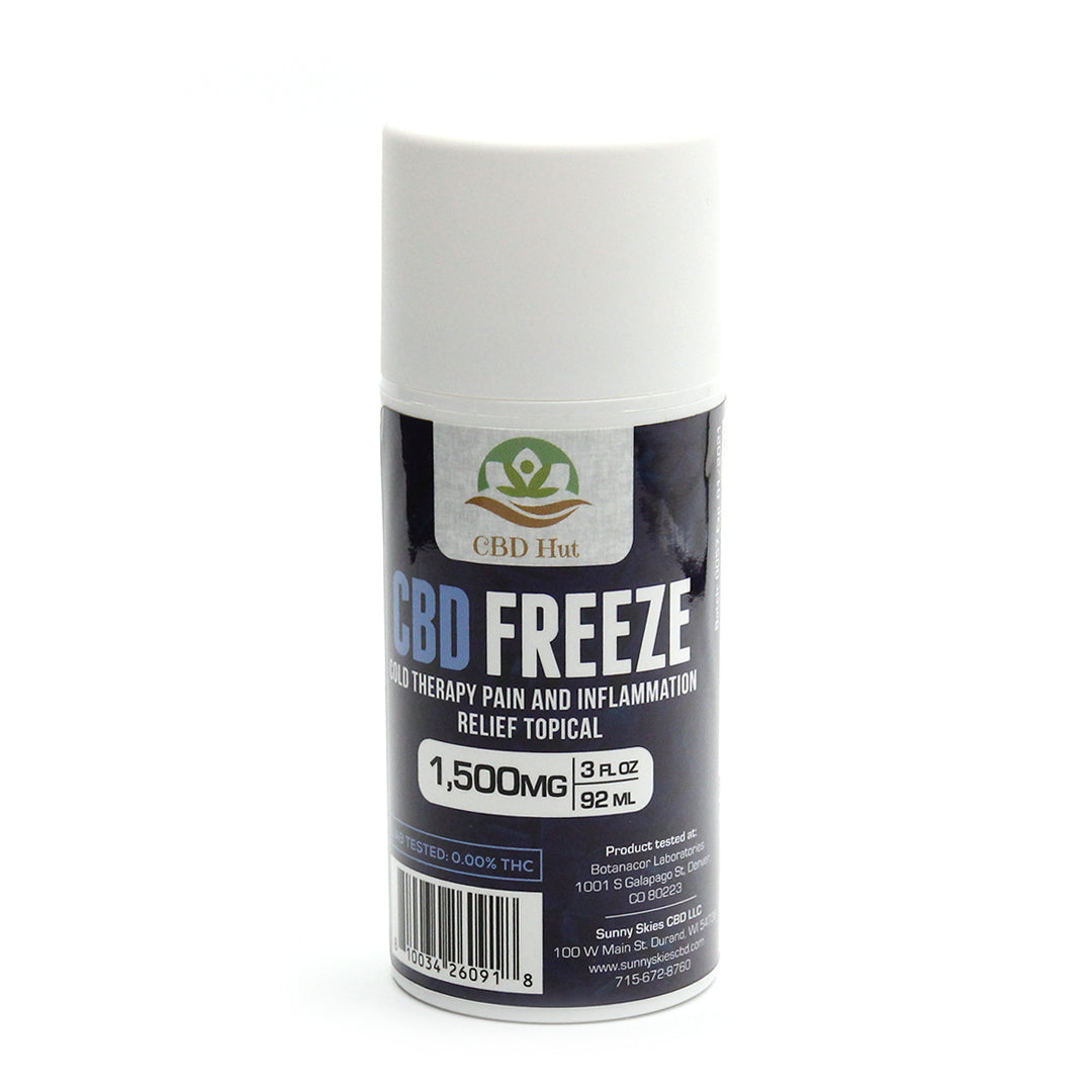 CBD Hut Freeze Gel