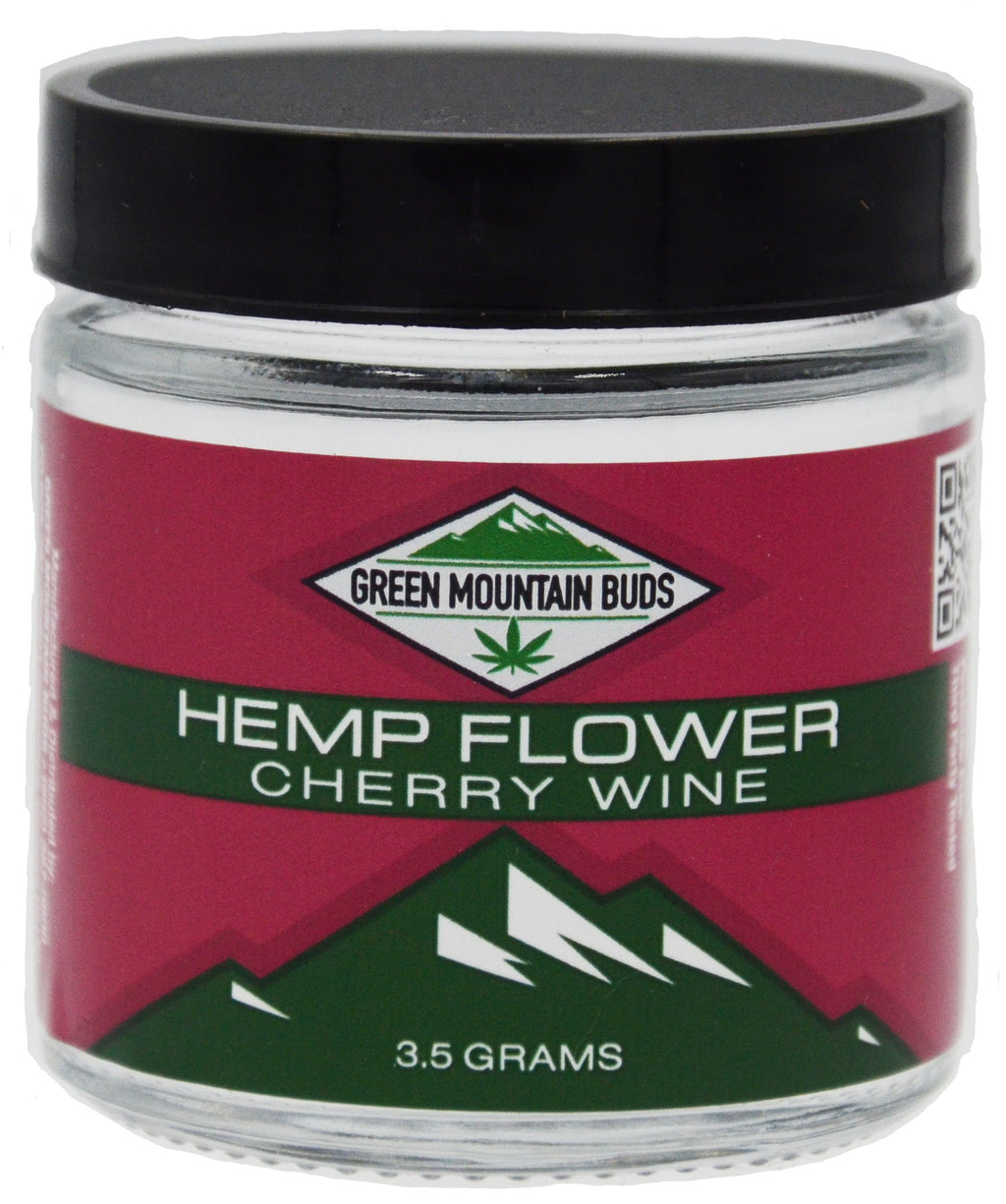 GMB Cherry Wine CBD Hemp Flower - 16.55% CBD