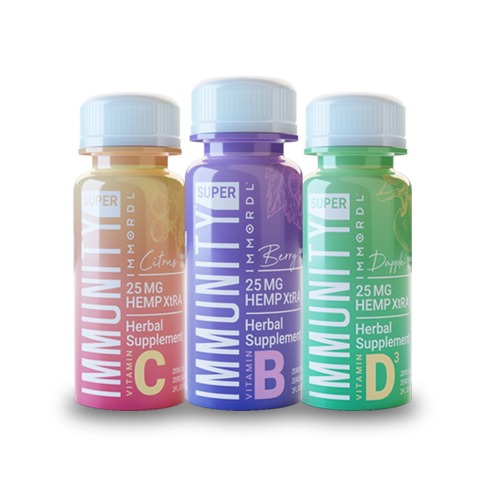 Immordl Super Immunity Shot: 3-Pack Traveler