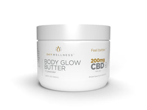 SkyWellness CBD Body Glow Butter Lavender