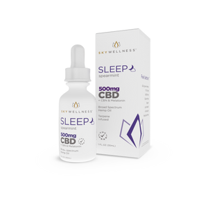 SkyWellness CBD Sleep Tincture - CBN+Melatonin