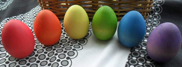 Large Rainbow Egg Set