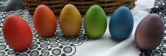 Medium Rainbow Egg Set