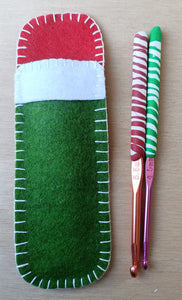 Crochet hooks and pouch