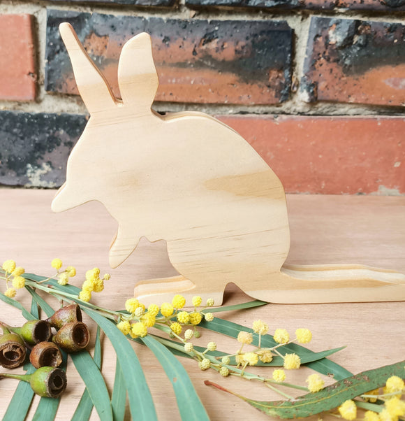 Wooden Bilby Shelfies